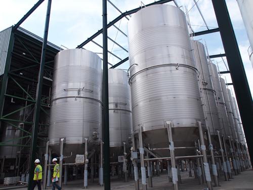 Bonificación tributos por ampliación y modernización de bodega para elaboración de vinos de alta calidad