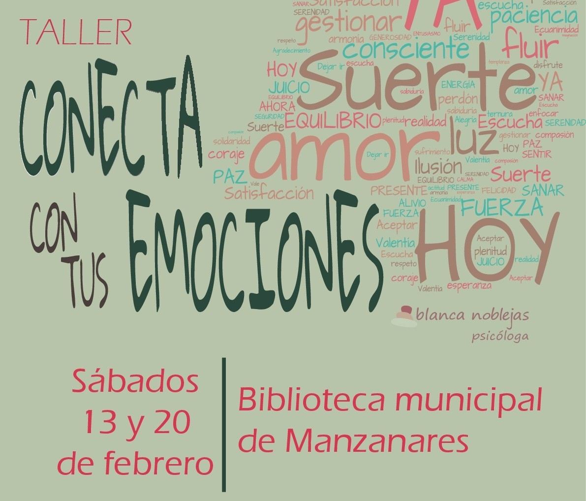 """La Biblioteca de Manzanares acogerá un interesante taller para niños bajo el lema """"Conecta con tus emociones"""""""