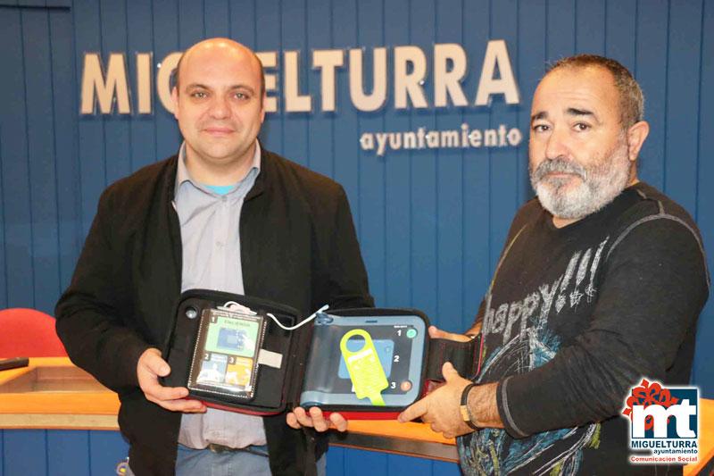 Miguelturra ya tiene otros tres desfibriladores cedidos por la Diputación de Ciudad Real