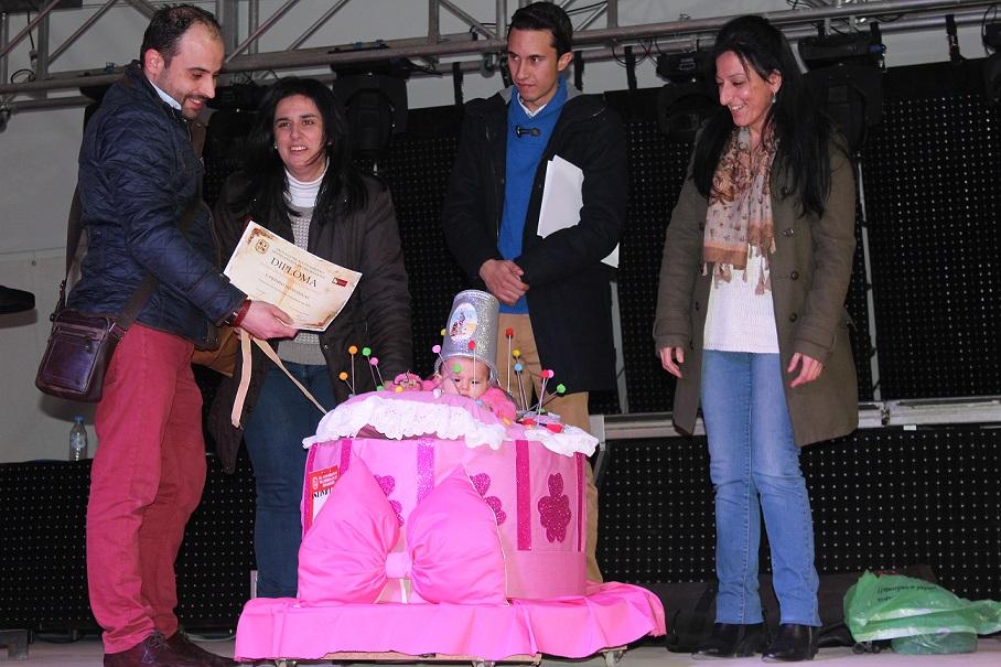 entrega premios carnaval infantil