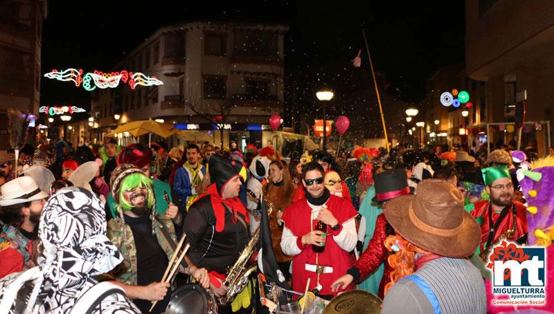 Lunes de Carnaval en Miguelturra con la concentración de las Máscaras Callejeras