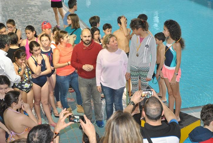 300 Alumnos han participado en la Olimpiada Escolar de Natación