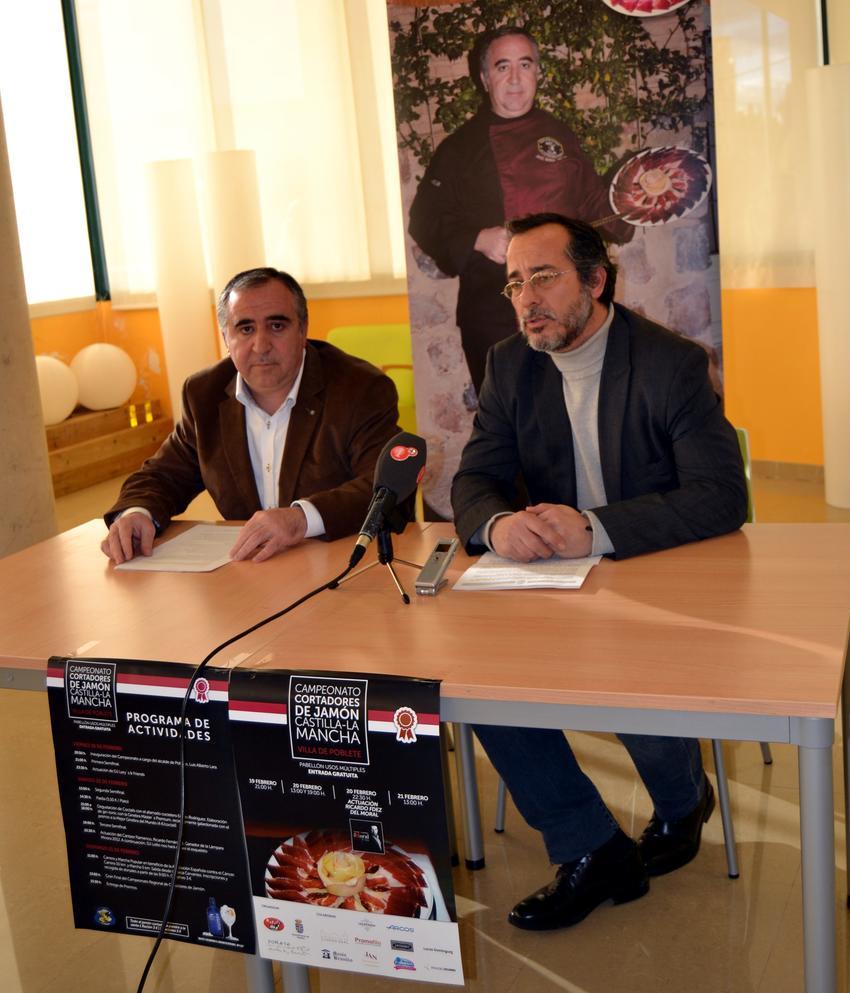 Poblete acogerá a cortadores de jamón de toda Castilla-La Mancha en el Primer Concurso Regional, del 19 al 21 de febrero
