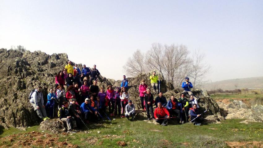Un grupo de 41 'Bicisenderistas Solaneros' explora el patrimonio cultural y paisajístico de Terrinches en una ruta de 17 kilómetros