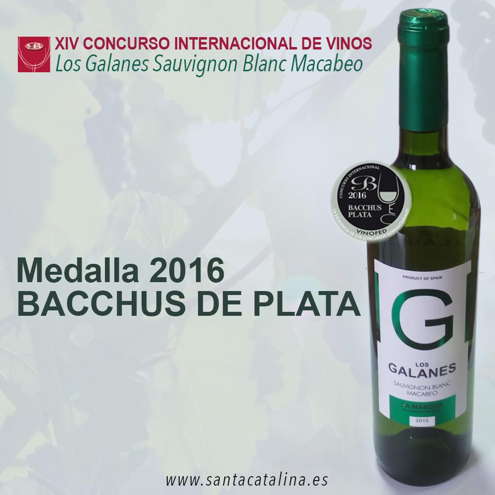 Los Galanes Sauvignon Blanc – Macabeo consigue la prestigiosa medalla de plata Bacchus 2016