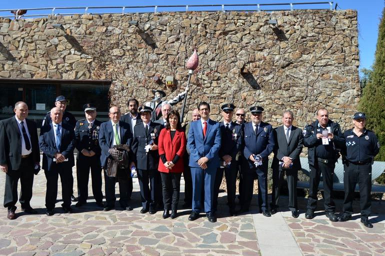 """Zamora agradece a los agentes de la Policía Local su """"heroísmo diario que nos hace más seguros"""""""