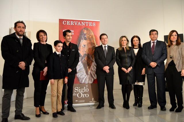 Inauguración exposición Cervantes