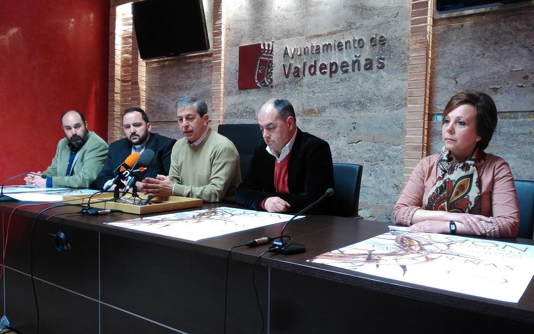 """""""La Pasión Viviente"""" con 128 figurantes se celebrará este fin de semana en Valdepeñas"""