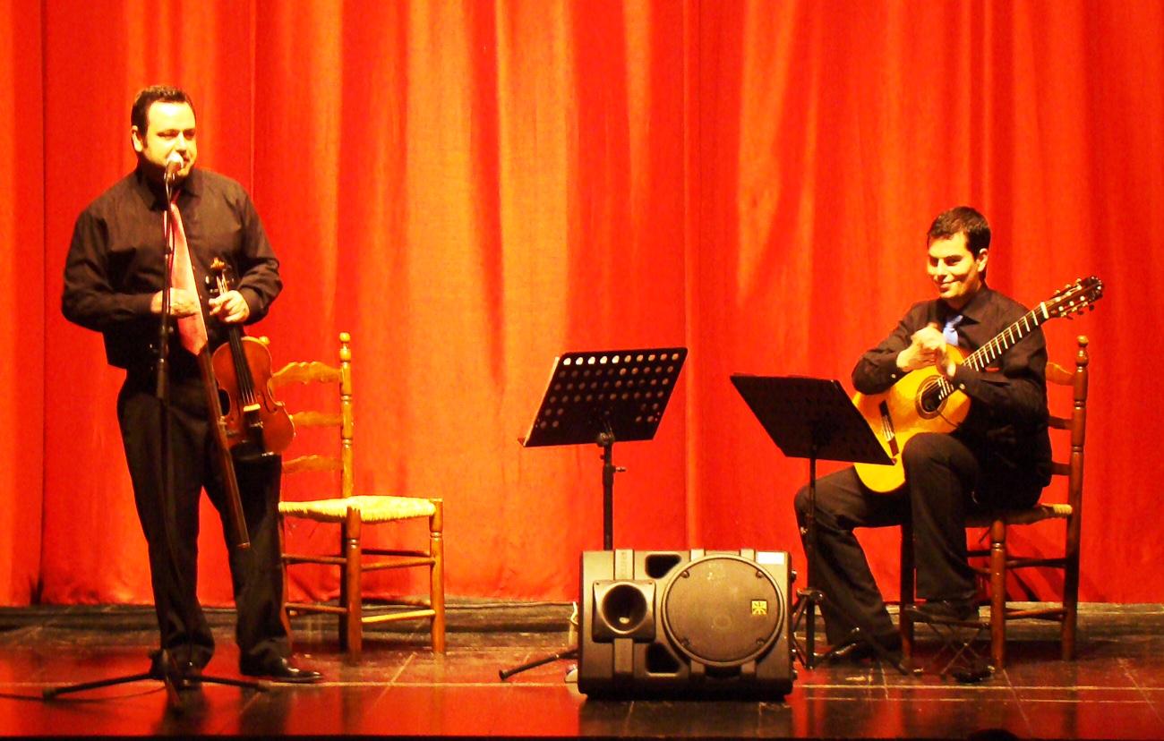 Alumnos de Primaria conocen a Cervantes gracias a los conciertos didácticos del Dúo Belcorde