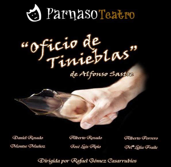 Parnaso Teatro Repone «Oficio de Tinieblas» en el Cine-Teatro Municipal de Pedro Muñoz
