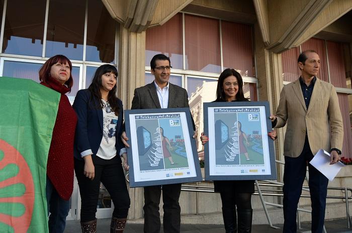Ciudad Real conmemora en la Plaza Mayor el Día Internacional del Pueblo Gitano