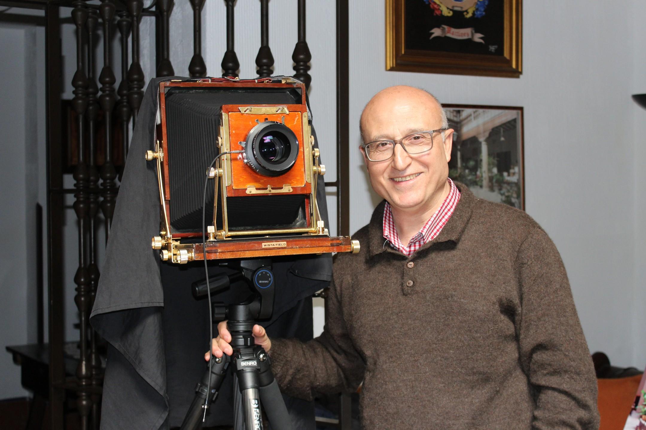El Premio Nacional de Fotografía 2015 escoge Villanueva de los Infantes para fotografiar 'El Alma de Cervantes'