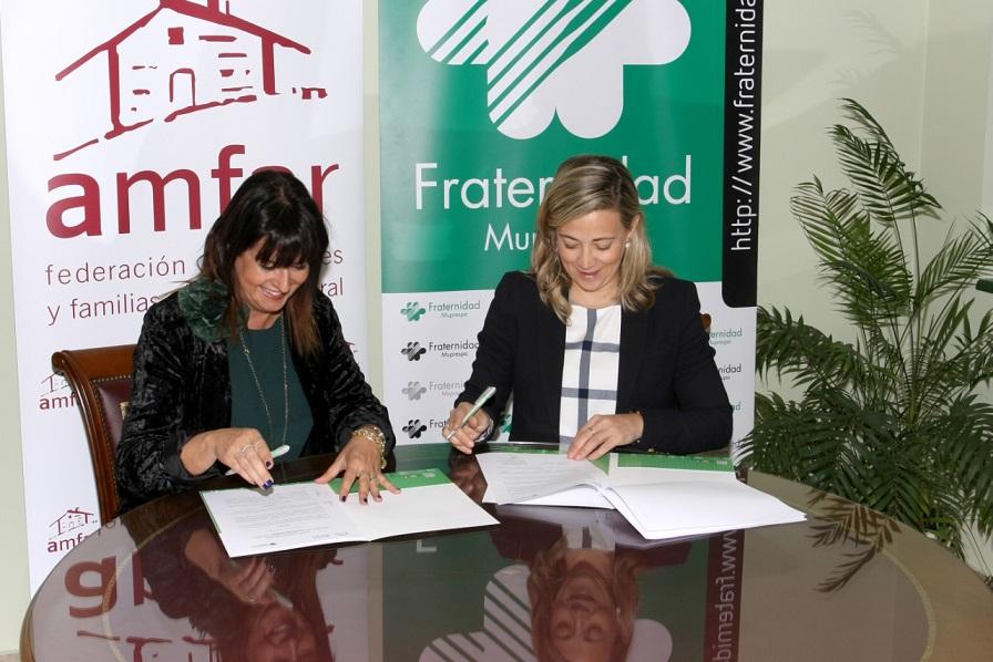 Fraternidad-Muprespa firma un convenio de colaboración con Amfar
