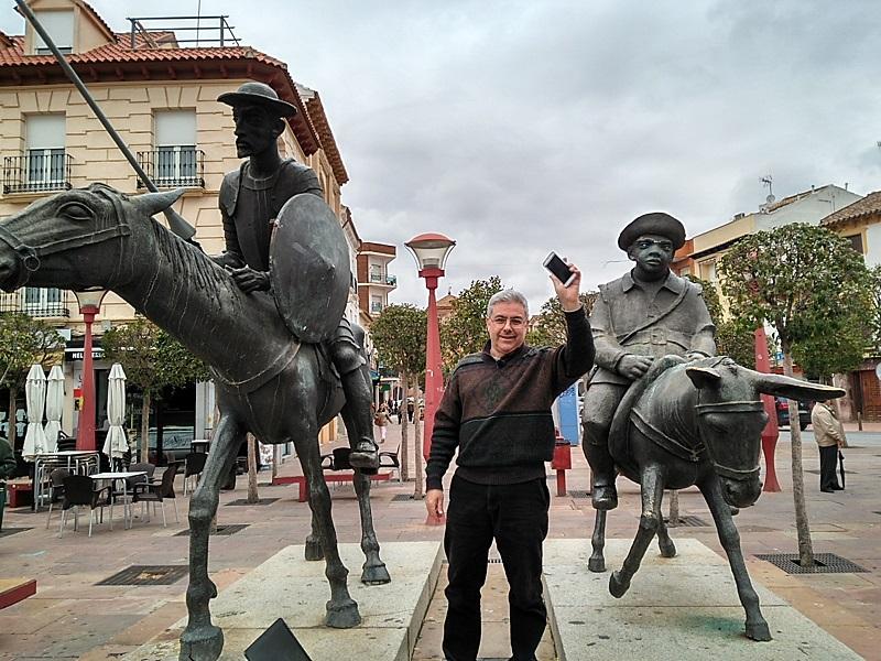 El Quijote en Twitter se termina de escribir en Alcázar de San Juan como lugar representativo de Don Quijote