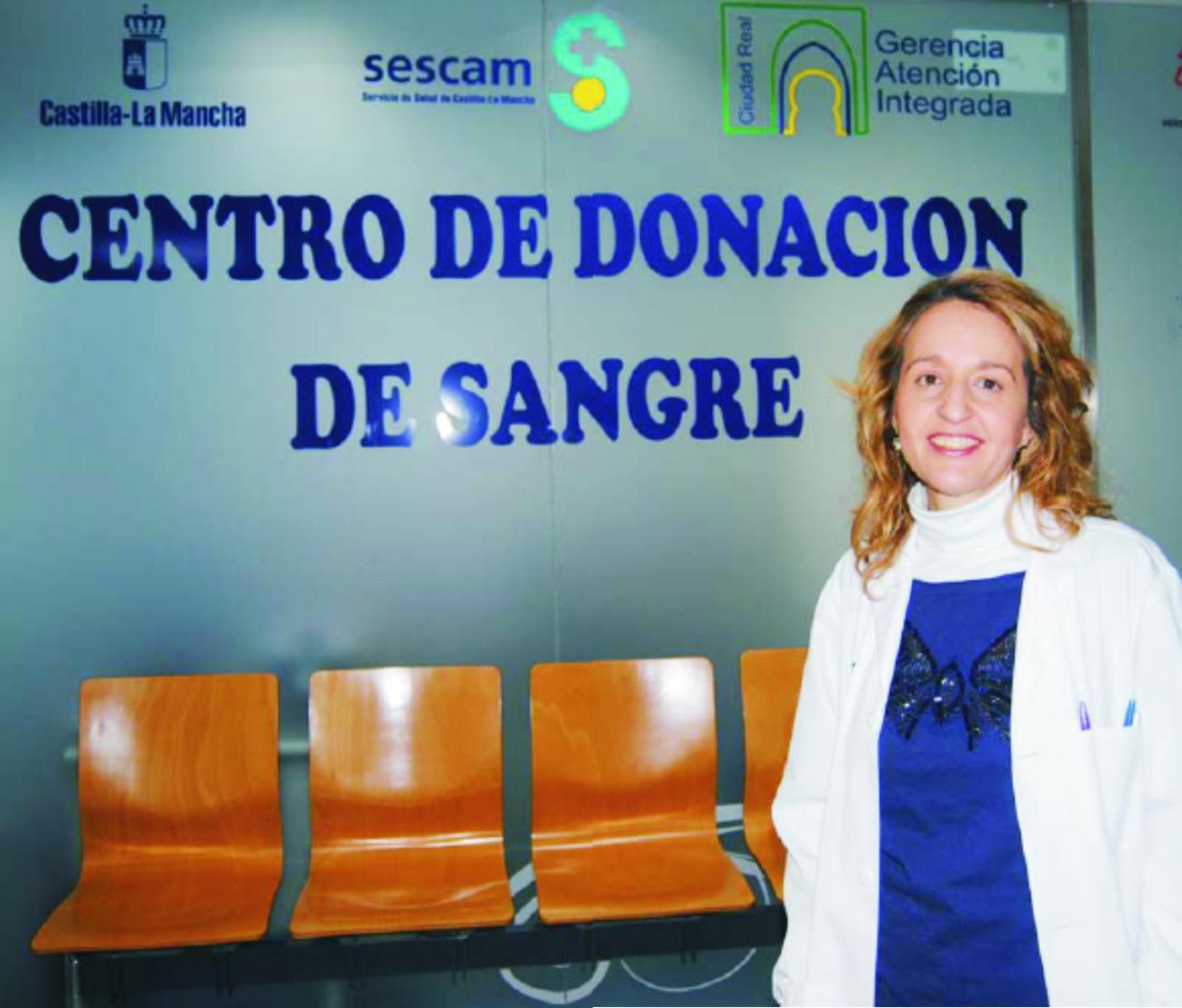 Elena Madrigal. Coordinadora de la Red de Hemodonación de la región
