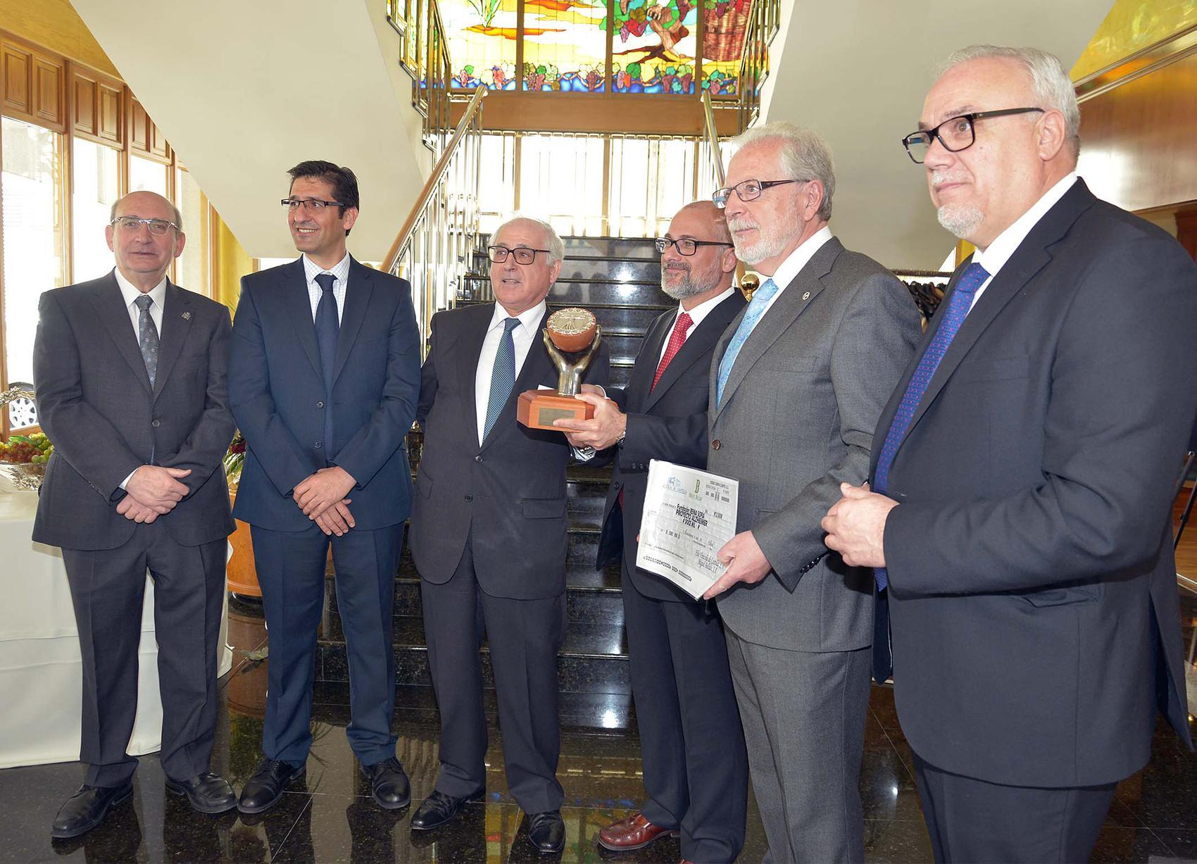 Caballero destaca la labor de la Fundación Reina Sofía en la investigación y lucha contra el Alzheimer