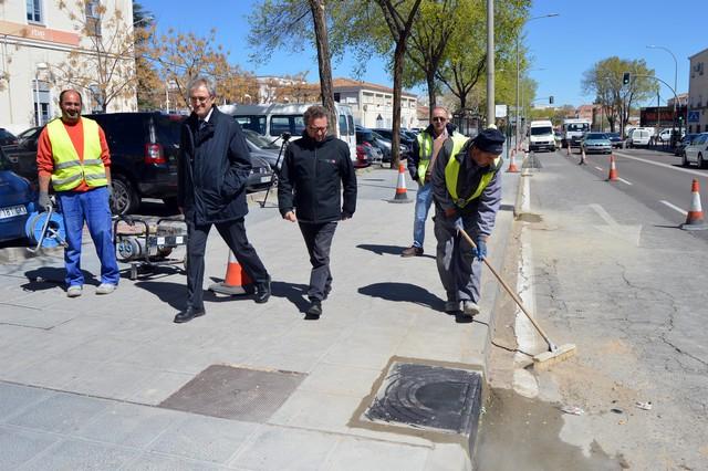 Comienzan las obras de renovación del firme de toda la Ronda de Ciudad Real