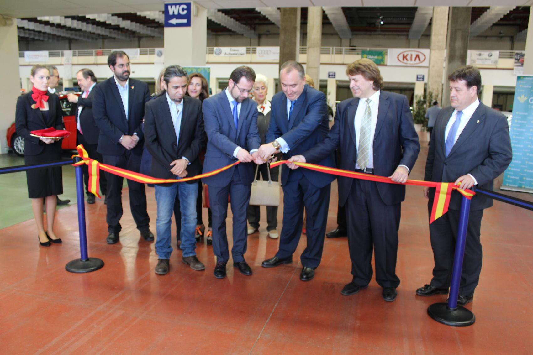 Inaugurada la II edición de FECIRAUTO, la Feria del Vehículo de Ocasión de Ciudad Real