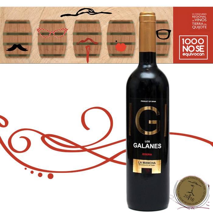 » Los Galanes » reserva 2012 Premio Quijote de Oro al mejor vino de la región