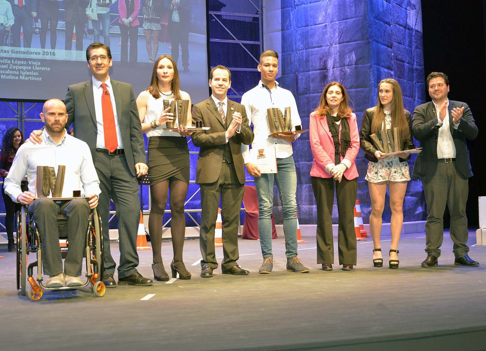La Diputación premia a los mejores deportistas de la provincia de Ciudad Real