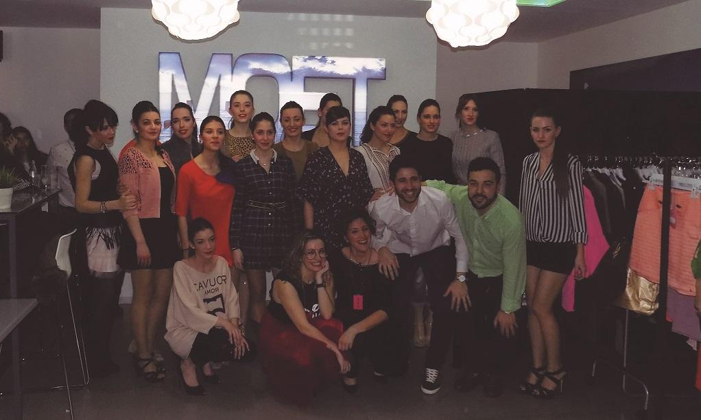 Gran éxito del desfile y showroom de Producciones Disfruta en la sala Moet, de Campo de Criptana