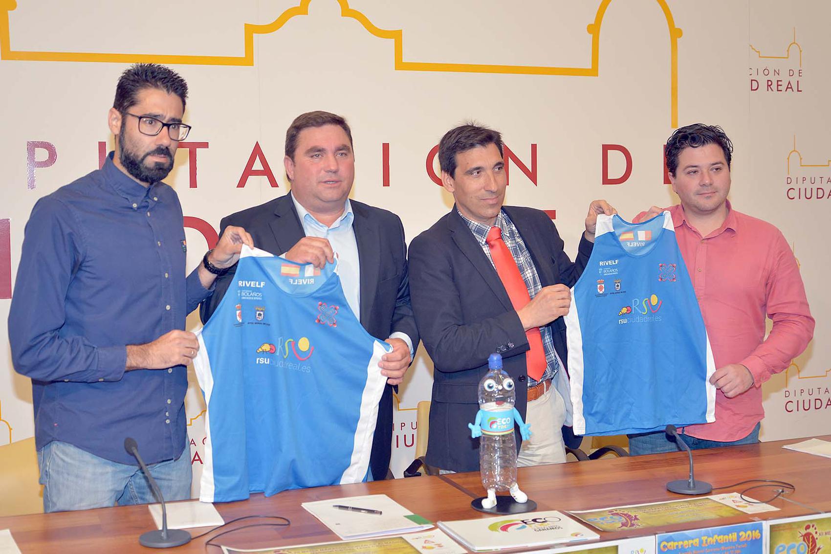 """RSU patrocina el Ecorace 12º Medio Maratón de Almagro """"IV Memorial Carmen Téllez Calzado"""""""