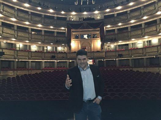 Ricardo en el Teatro Real