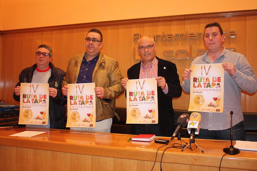 La IV Ruta de la Tapa tendrá más premios y una cesta valorada en 700 euros