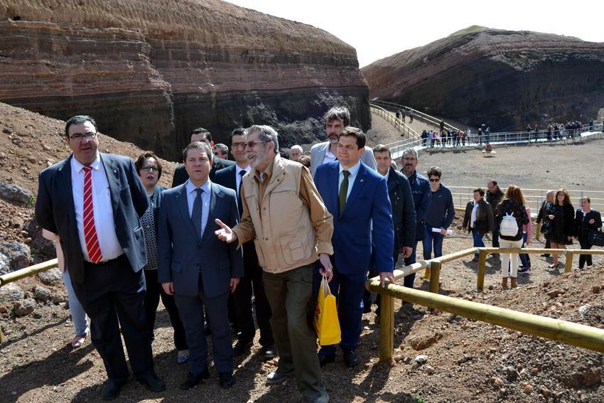 El volcán-museo de Cerro Gordo de Granátula se convierte en uno de los principales atractivos turísticos del Campo de Calatrava