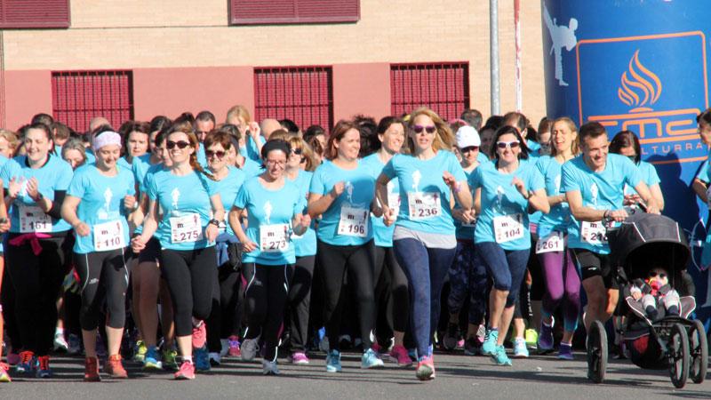 Éxito de participación en la celebración de la Cuarta Carrera de la Mujer de Miguelturra