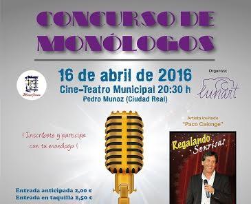 I concurso de monólogos organizado por la asociación Pedrotena Lunar-T y el área de juventud