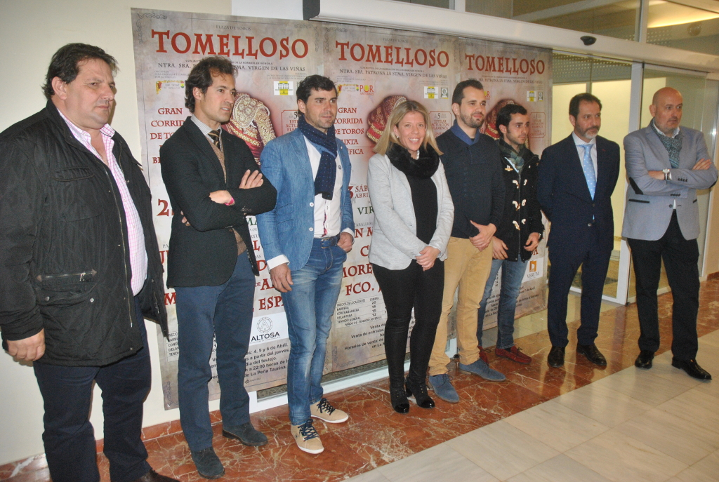 Presentada la corrida benéfica de Romería en Tomelloso