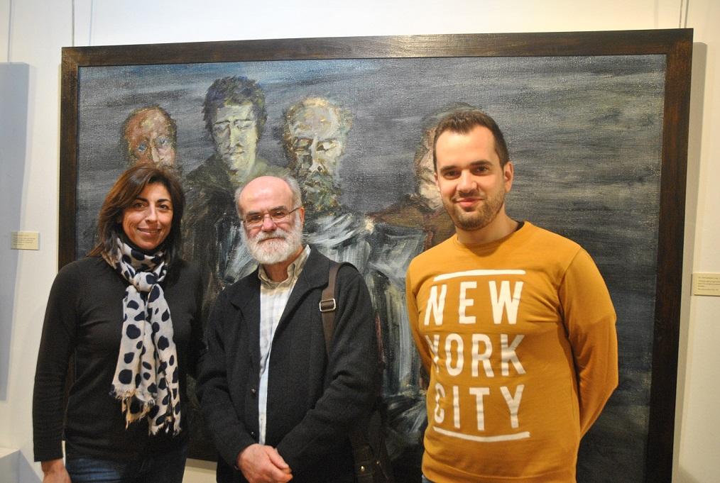Don Quijote, protagonista de la exposición de pinturas de José Manuel Chamorro