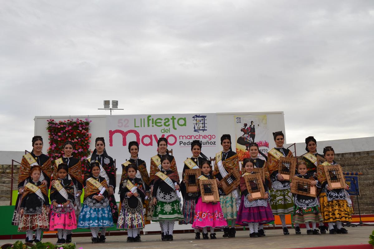 El 23 de abril Pedro Muñoz comienza a virvir sus Mayos con la imposición de bandas de las nuevas Mayeras 2016