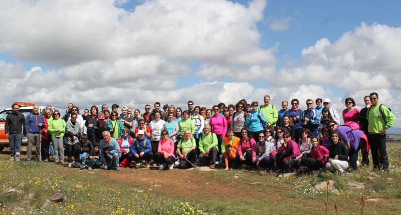 «Paseando por Miguelturra»: Más de cien personas en la primera ruta senderista del año