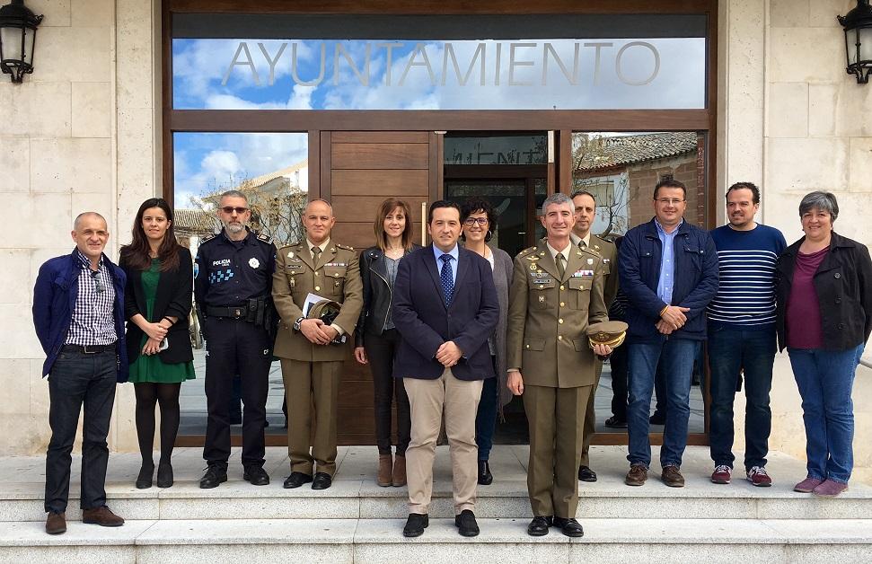 El Ayuntamiento de Campo de Criptana celebrará diversos actos de  homenaje a las Fuerzas Armadas y a la Bandera