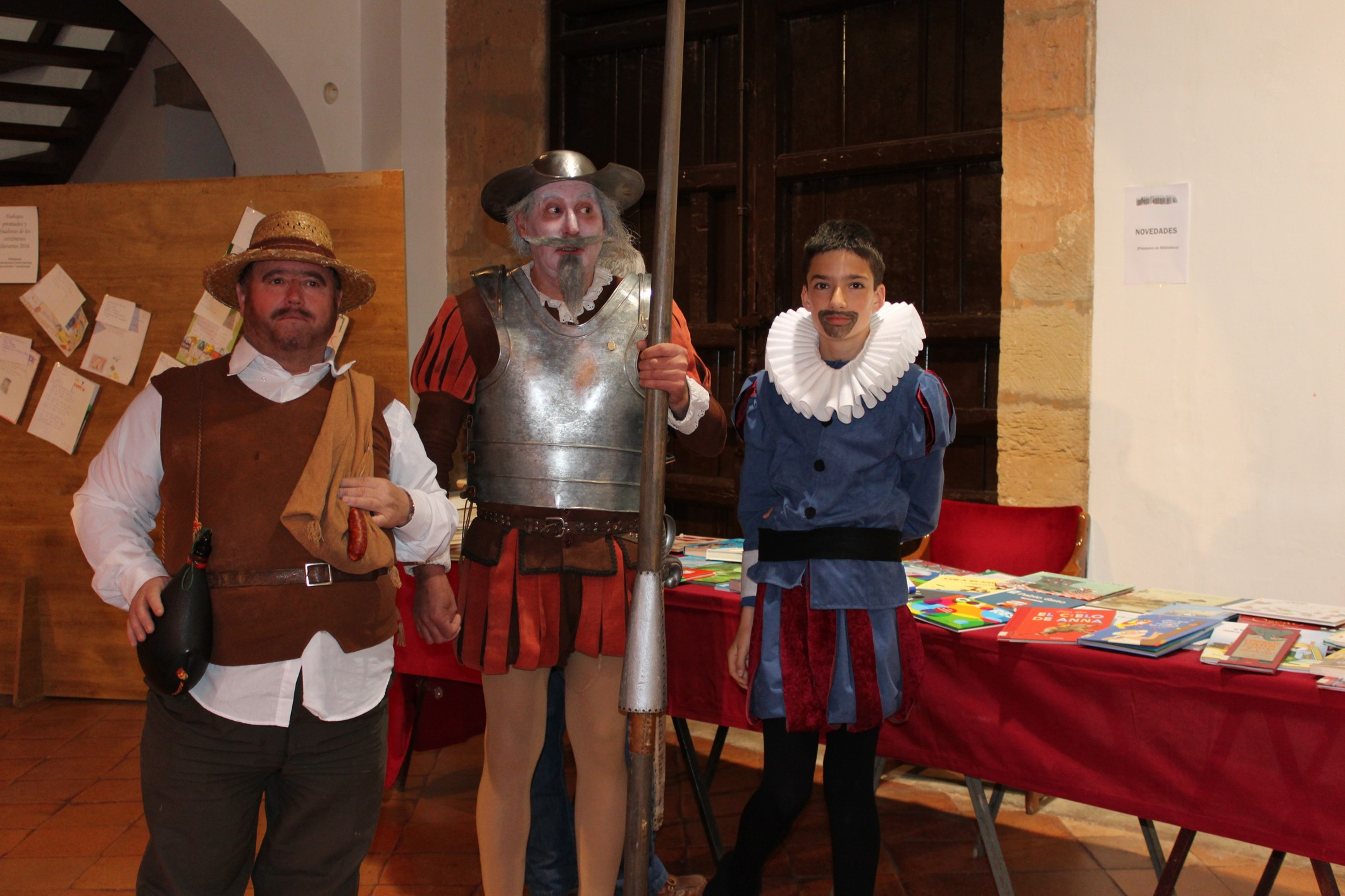 Villanueva de los Infantes conmemora el Día del Libro por todo lo alto en el año Cervantes