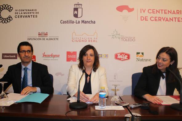 Presentación de los actos de la Conmemoración del IV Centenario en Ciudad Real