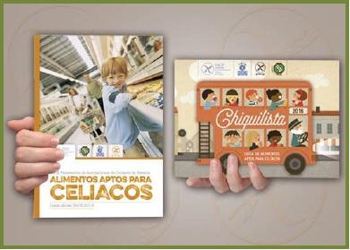 Publicaciones para la alimentación segura del celiaco