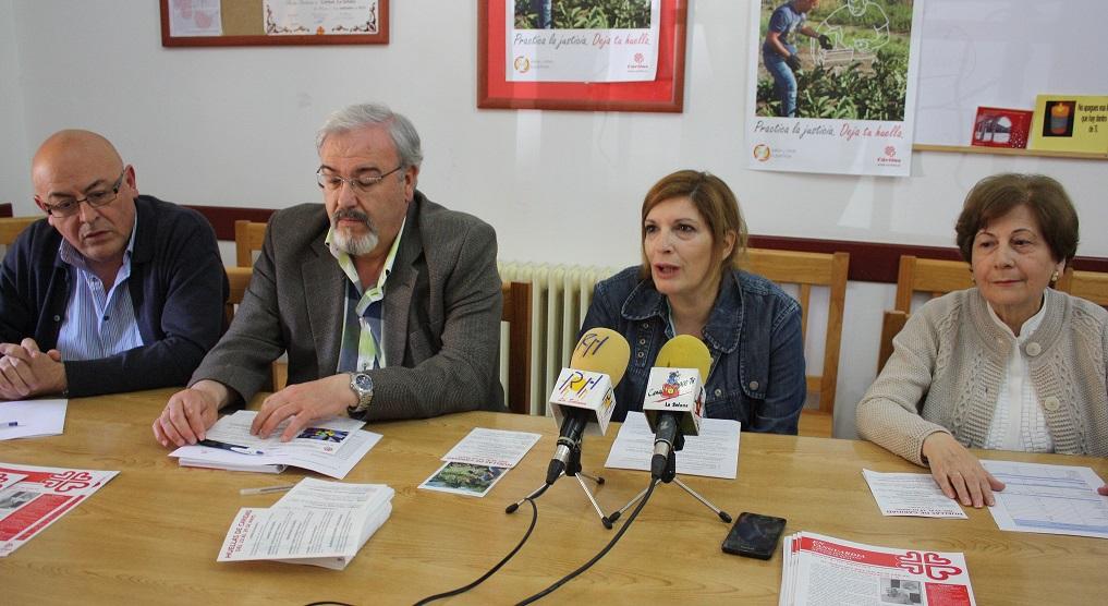 Cáritas invirtió 8.500 euros en el primer trimestre en atención social en La Solana