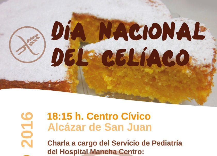 Charlas en Alcázar con motivo del Día Nacional del Celiaco