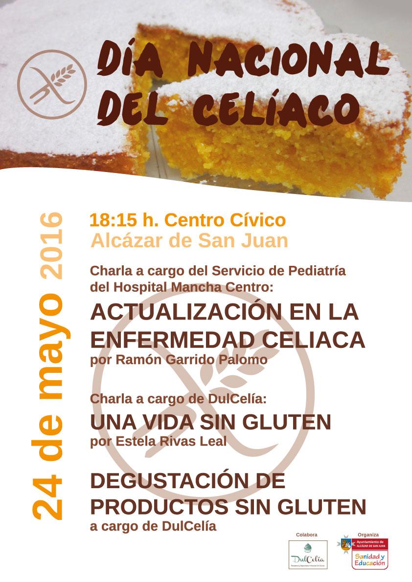 Charlas con motivo del Día del Celiaco