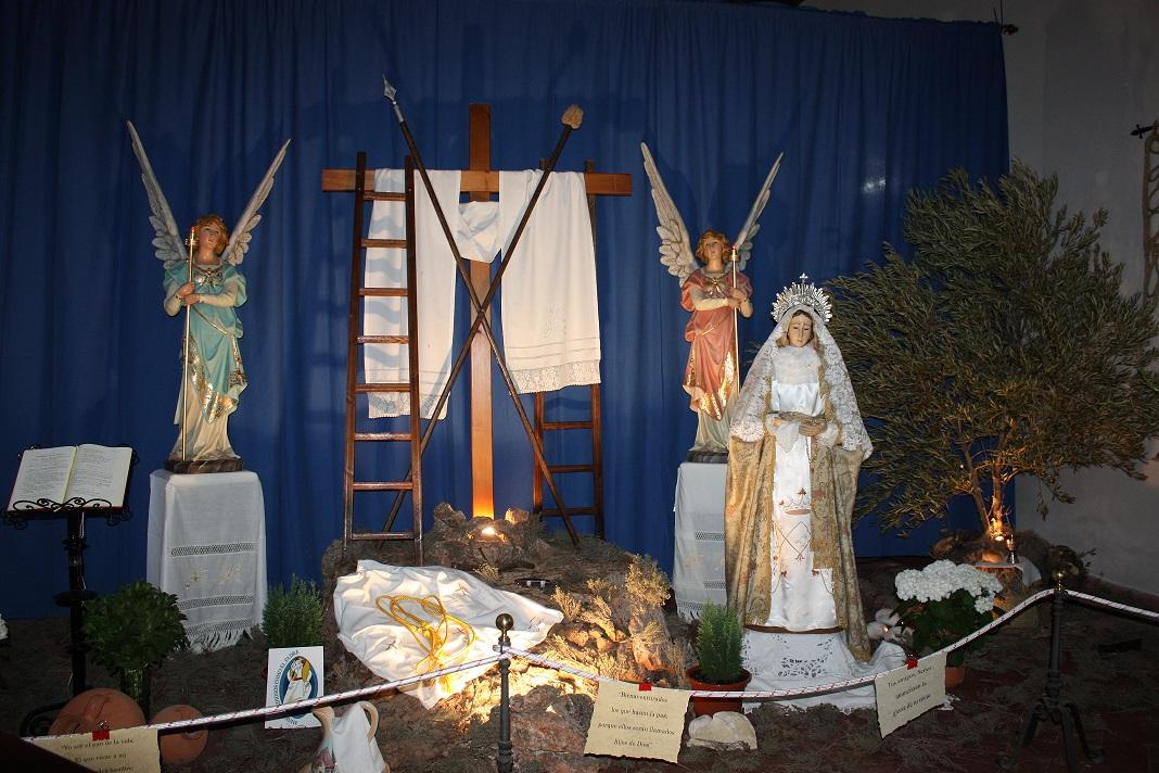 Originalidad en la Cruz de la Iglesia de San Sebastián