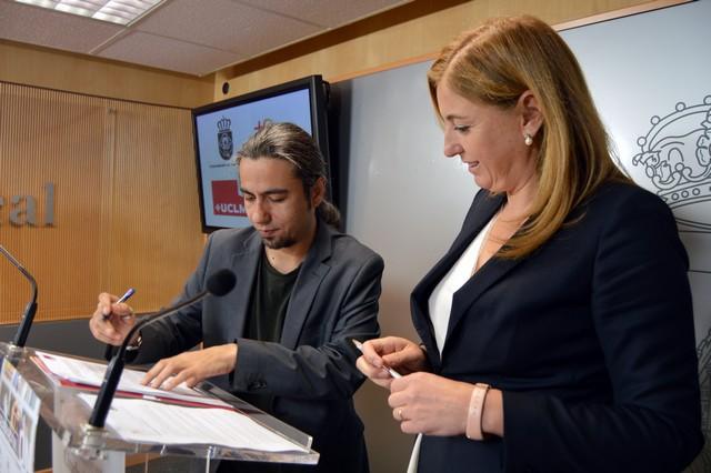 """Ayuntamiento y UCLM inician el programa """"GENERACIÓN ON. Universitarios de Ciudad Real con talento"""""""