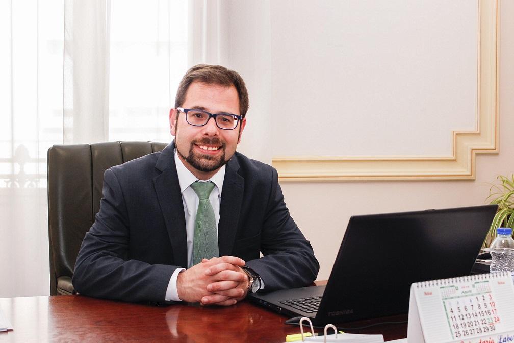 Gonzalo Redondo. Vicepresidente y Diputado de Promoción Económica de la Diputación