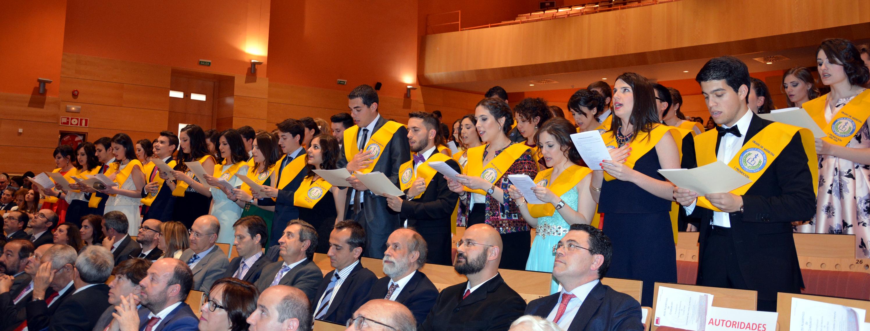 Graduada la primera promoción de médicos de la Facultad de Medicina del Campus de Ciudad Real