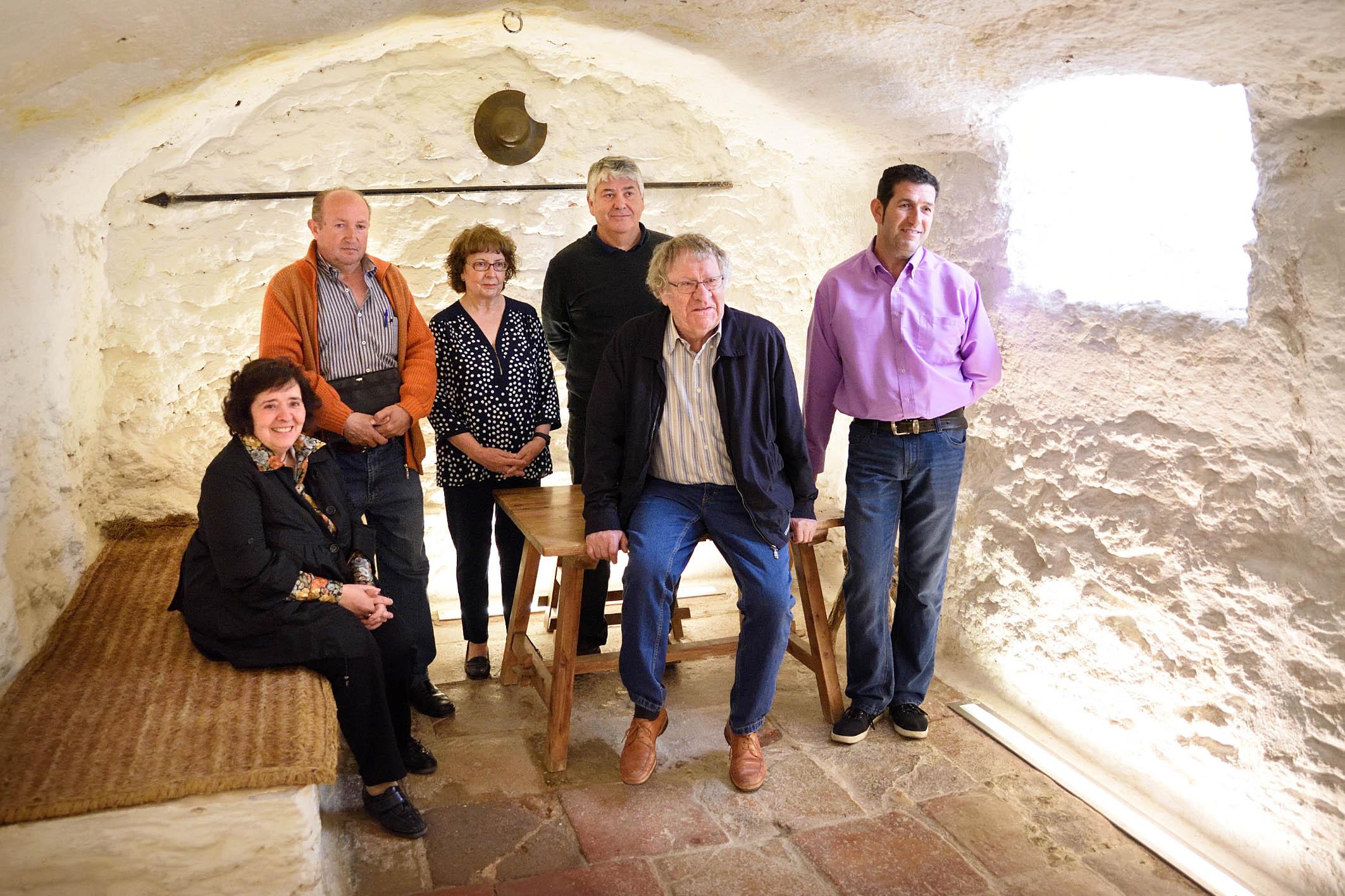 El hispanista Ian Gibson visita Argamasilla de Alba