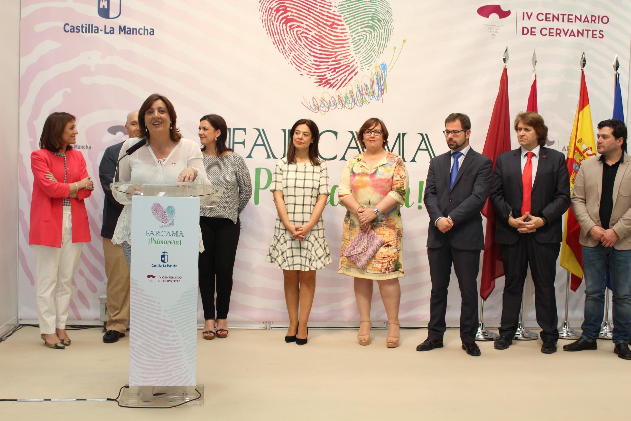 """La primera edición de FARCAMA Primavera """"es un símbolo de la recuperación del apoyo del Gobierno regional al sector artesano"""""""
