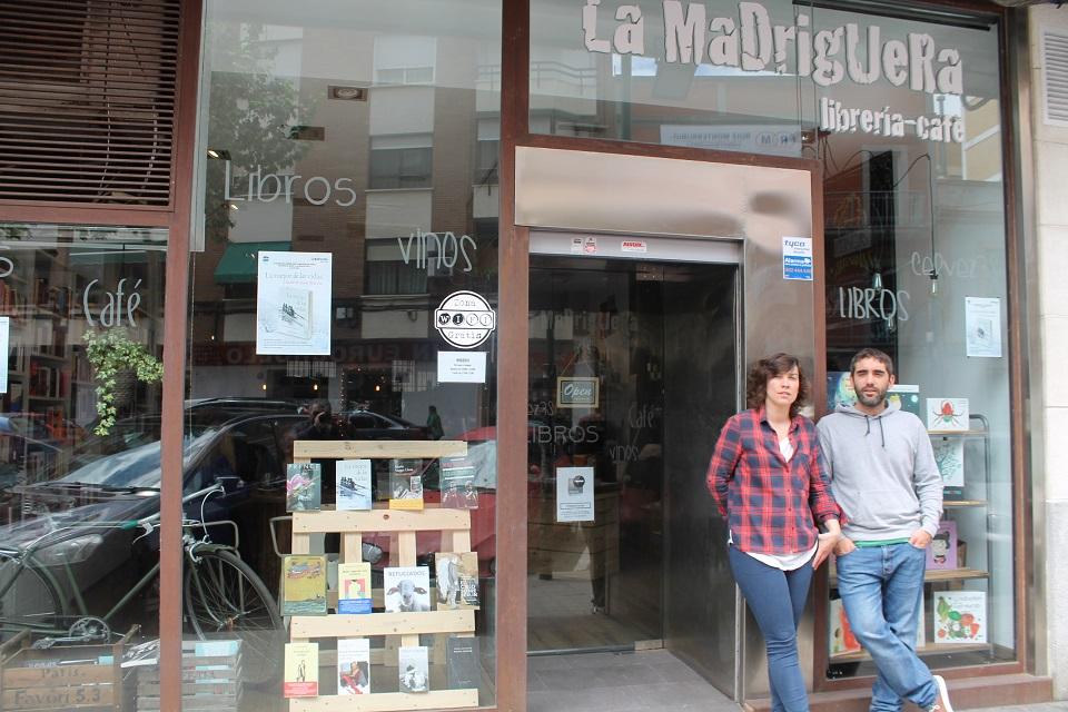 La Madriguera, Librería Café: un rincón de ocio diferente