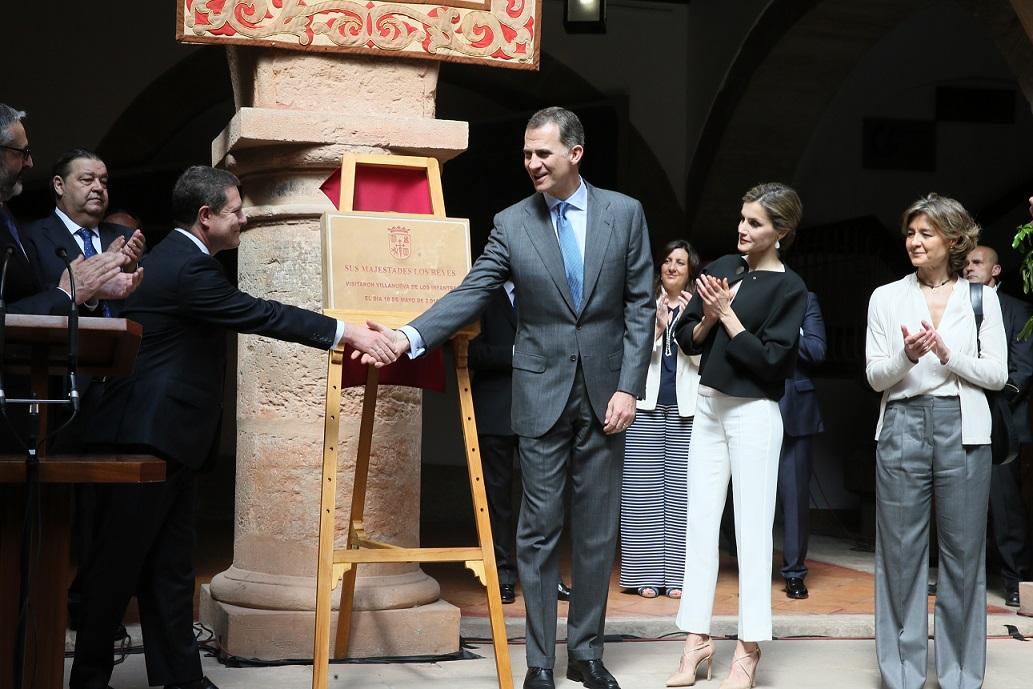 Visita de SS.MM. los Reyes a Villanueva de los Infantes, Tomelloso y Talavera de la Reina